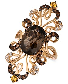 Le Vian Crazy Collection® Multi-Gemstone Ring (6-1/4 ct. t.w.) in 14k Rose Gold