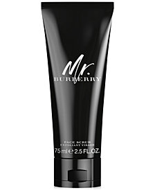 Burberry Men's Mr. Burberry Face Scrub, 2.5 oz