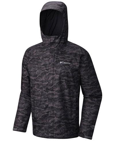 Columbia Men's Watertight Packable Camouflage Jacket