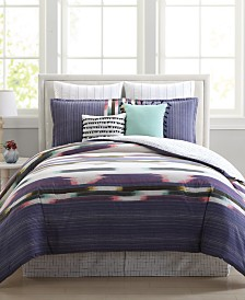 Alameda Reversible 8-Pc. Full Comforter Set