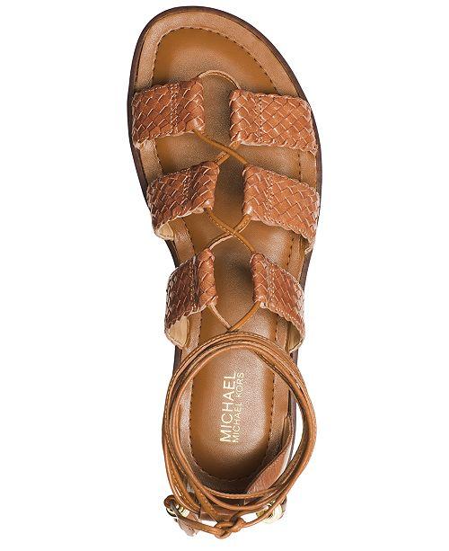 feed866ff4f Michael Kors Monterey Gladiator Flat Sandals   Reviews - Sandals ...