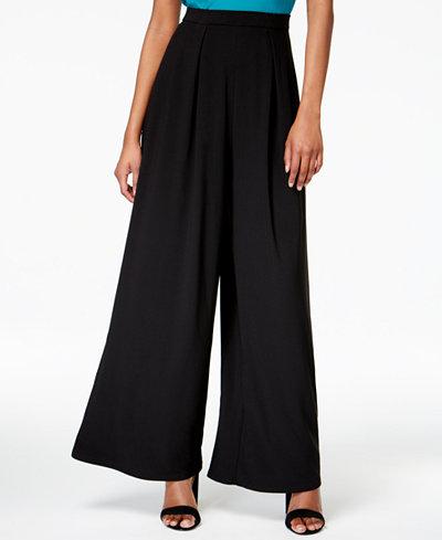 Bar III Wide-Leg Pants, Created for Macy's