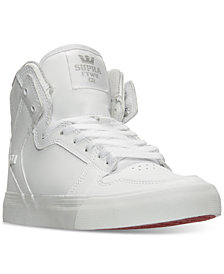 Supra Little Boys' Vaider High Top Casual Sneakers from Finish Line
