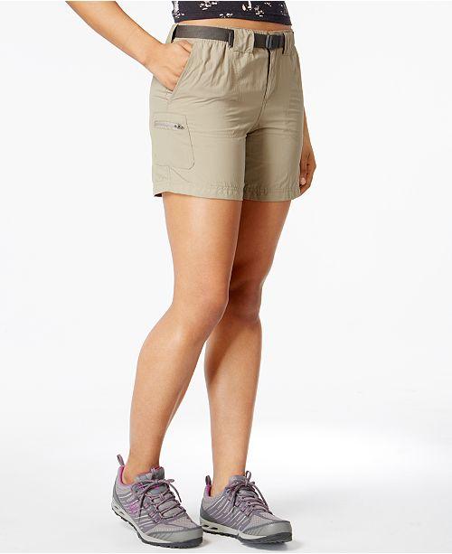 0633344dd Columbia Sandy River™ Cargo Shorts & Reviews - Shorts - Women - Macy's