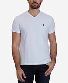 Nautica Men's Slim-Fit Stretch V-Neck T-Shirt