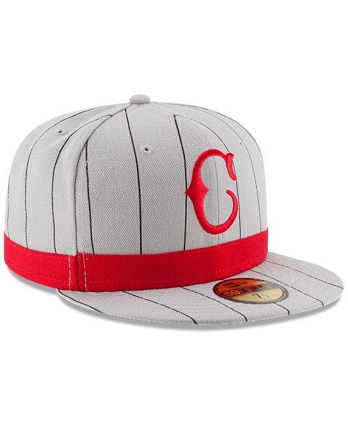 brand new 85cfe 513d8 ... New Era Cincinnati Reds Turn Back the Clock 59FIFTY Cap ...