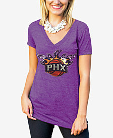 Gameday Couture Women's Phoenix Suns Sequin Shine T-Shirt