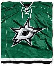 Northwest Company Dallas Stars Raschel Stamp Throw Blanket