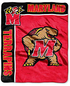 Northwest Company Maryland Terrapins Raschel Rebel Throw Blanket