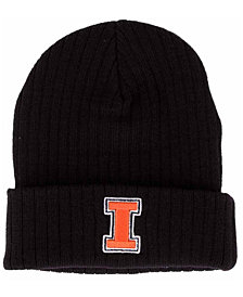 Illinois Fighting Illini Top of the World Campus Cuff Knit Hat