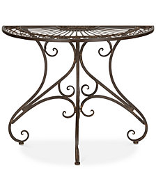 Emilee Outdoor End Table, Quick Ship