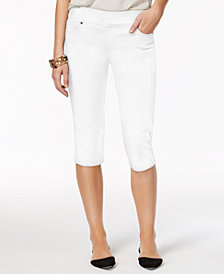 Style & Co Petite Pull-On Skimmer Jeans, Created for Macy's