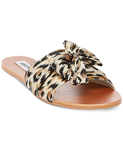 Steve Madden Women's Alex Knot Slide Sandals