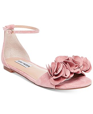 Steve Madden Women's Dorothy Two-Piece Ruffle Sandals