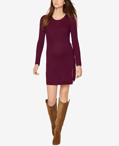BCBGMAXAZRIA Maternity Rib-Knit Sheath Dress