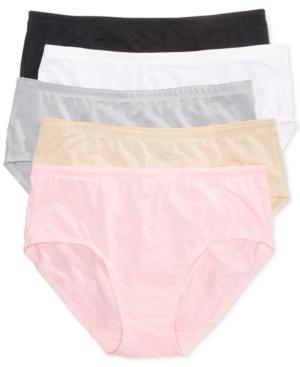 Premium 5-Pk. Low-Rise Breathable Mesh Brief Underwear 5DPBLB1