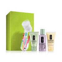 Clinique 4-Pc. Clean Skin, Great Skin Gift Set For Drier Skin Lip Cream