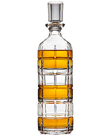 Godinger Radius Stackable Decanter with 2 Glasses