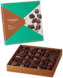 Neuhaus 25-Piece Belgian Dark Chocolate Gift Box