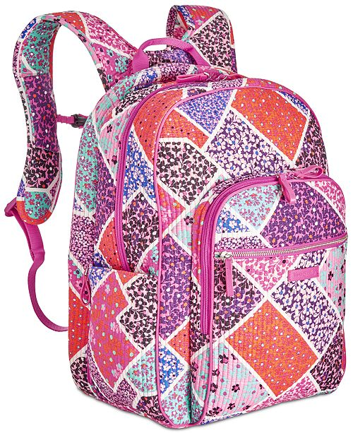 9773c685e Vera Bradley Iconic Deluxe Campus Small Backpack & Reviews ...