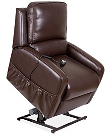 Karwin Leather Power Lift Reclining Chair
