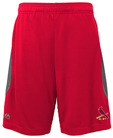 Majestic St. Louis Cardinals Last Rally Shorts, Big Boys (8-20)