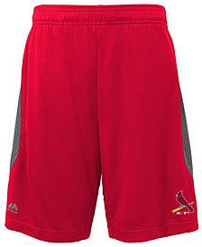 Majestic St. Louis Cardinals Last Rally Shorts, Big Boys (8-20)