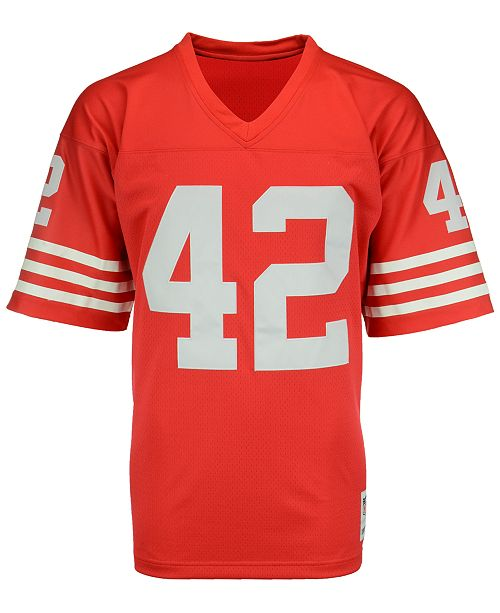check out 949ea 9b311 Men's Ronnie Lott San Francisco 49ers Replica Throwback Jersey