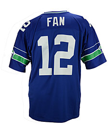 Mitchell & Ness Men's Fan #12 Seattle Seahawks Replica Throwback Jersey