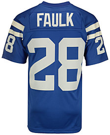 Mitchell & Ness Men's Marshall Faulk Indianapolis Colts Replica Throwback Jersey