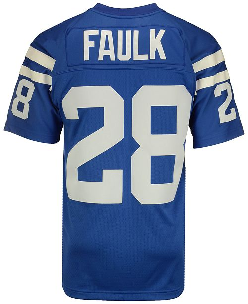 wholesale dealer f0815 b5725 Mitchell & Ness Men's Marshall Faulk Indianapolis Colts ...