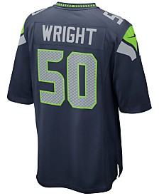 Nike Men's K.J. Wright Seattle Seahawks Game Jersey