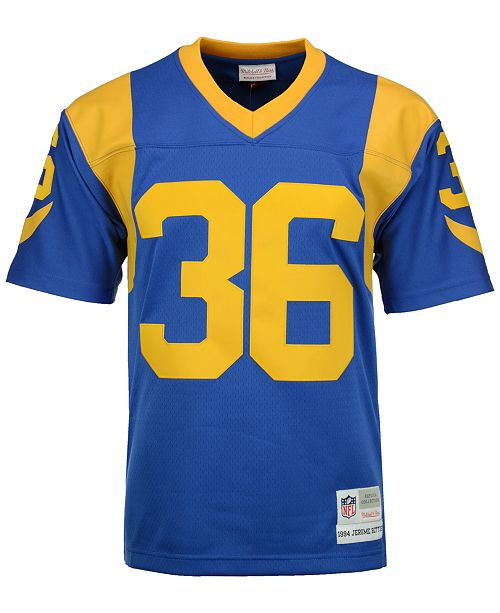 pretty nice 90aa1 c625a Men's Jerome Bettis Los Angeles Rams Replica Throwback Jersey