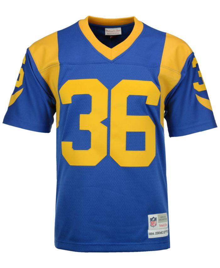 Mitchell & Ness Men's Jerome Bettis Los Angeles Rams Replica Throwback Jersey  & Reviews - Sports Fan Shop By Lids - Men - Macy's