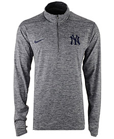 Nike Men's New York Yankees Dry Element Half-Zip Dri-FIT Pullover