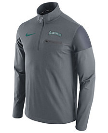 Nike Men's Seattle Mariners Half-Zip Elite Pullover