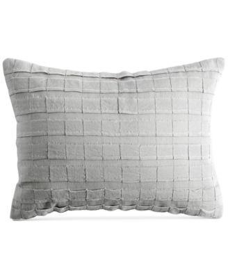 "PURE Pieced Stripe 12"" x 16"" Decorative Pillow"