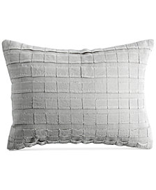 "DKNY PURE Pieced Stripe 12"" x 16"" Decorative Pillow"