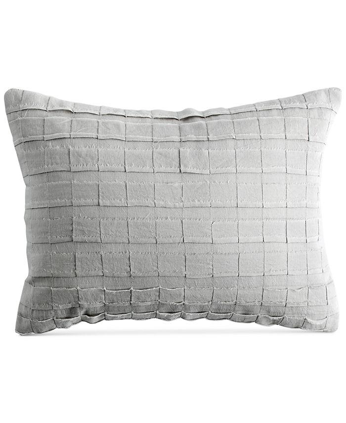"DKNY - PURE Pieced Stripe 12"" x 16"" Decorative Pillow"