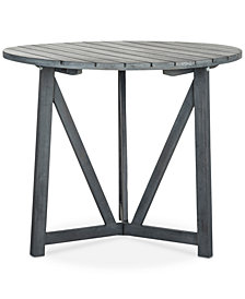 Gaymore Outdoor Round Side Table, Quick Ship
