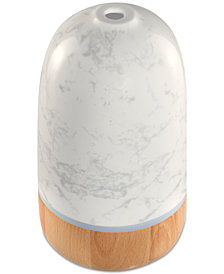 HoMedics Ellia Rise Marble Remote-Control Aroma Diffuser, Created for Macy's