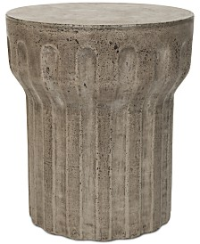 Petell Outdoor Accent Table, Quick Ship