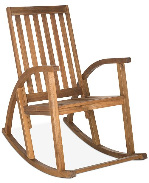 Peachy Troy Outdoor Rocking Chair Quick Ship Short Links Chair Design For Home Short Linksinfo