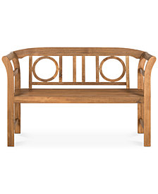 Wendyn Outdoor Bench, Quick Ship