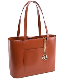 McKlein Alyson Leather Tote