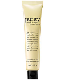philosophy Purity Made Simple Pore Extractor Mask, 2.5 oz