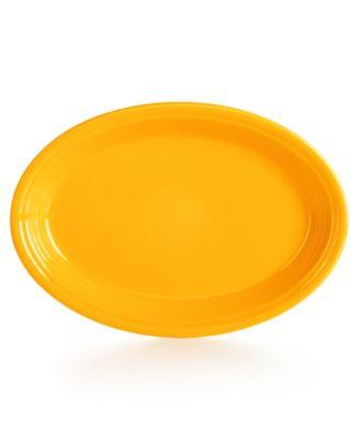 """Daffodil 13"""" Oval Platter"""