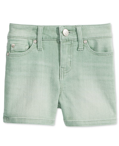 Celebrity Pink Faded Colored Denim Shorts, Big Girls (7-16 ...