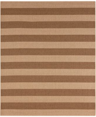 Portico Riviera Stripe  9' x 12' Indoor/Outdoor Area Rug