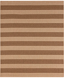 Karastan Portico Riviera Stripe  9' x 12' Indoor/Outdoor Area Rug